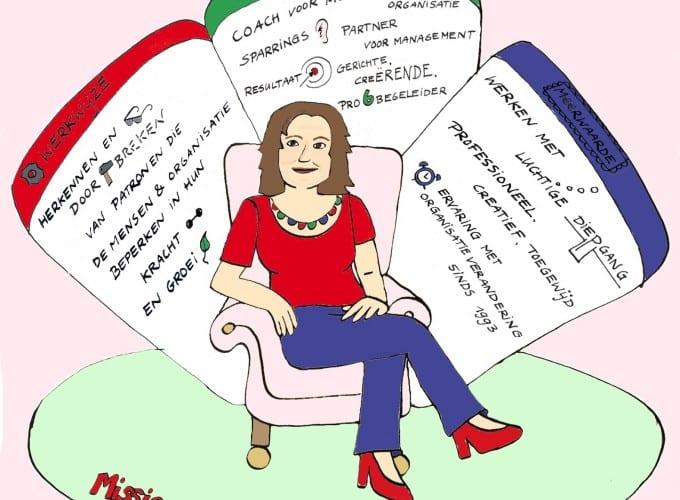 Nicole van der Ouw helpt handelen bij veranderen