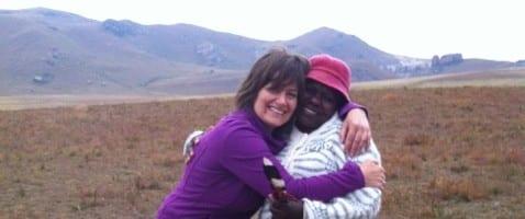 Afrika inspireert om lichter naar obstakels te kijken